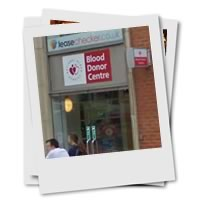 Blood donation centre